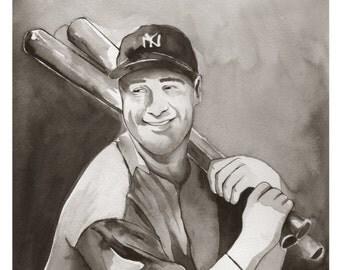 Lou Gehrig 11x14 Print
