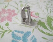 SMALL Vintage Sterling Silver City Hall Toronto Canada Travel Charm