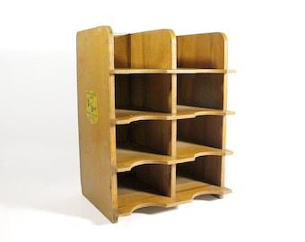 Vintage Wooden Stry Lenkoff Display