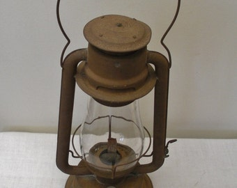 Vintage C.T. Ham Kerosene Barn Lantern