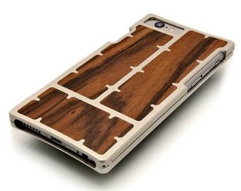 EXO23 Silver Aluminum Louro Preto for iPhone 6