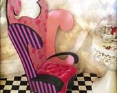 Miniature Chair 'Croquet' Fanciful Furniture' 1/6 scale Wonderland