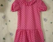 Sally Brown pink toddler size