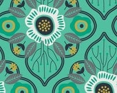 SALE - Camelot Fabrics - Botanical Collection - Damask in Spearmint - By the Yard