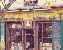 Paris Photography, Paris Bookstore, Paris Life, Travel Photography, Midnight in Paris, Parisian Street, Book Lover - Shakespeare in Paris