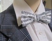 Mr Skinny Musical Notes Bow Tie