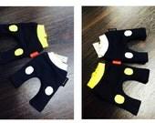 Lati Band Baggy pants -Yellow ,White