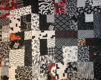 Queen Size Bed Quilt  Double spread  74