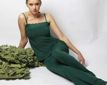 bamboo pajama set - GEM sleepwear range - made to order