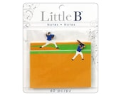 Little B Paper Adhesive Notes BASEBALL