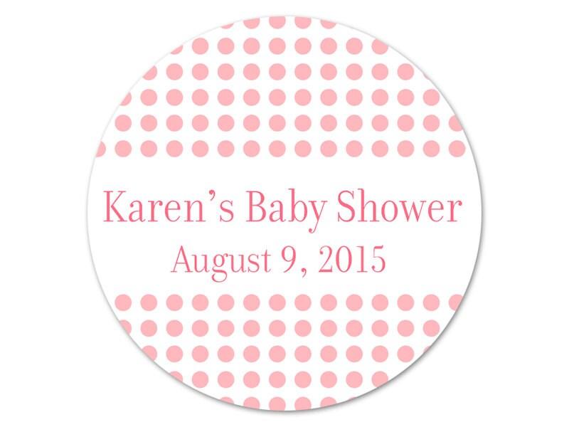 personalized baby shower stickers custom by modernzebradesign