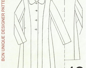 CASSOCK coat pattern. SIZE 42.-