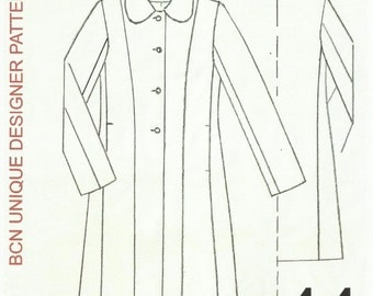 CASSOCK coat pattern. SIZE 44.-