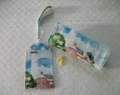 Lighthouse Luggage Tag and Handle Wrap - 2 choices