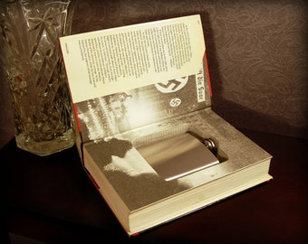 Hollow Book Safe with Flask (The Nightmare Years)