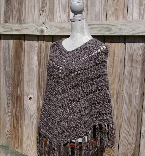 Bohemian Poncho Free Crochet Pattern : Crochet Pattern Boho Poncho Pattern, Crochet Poncho ...