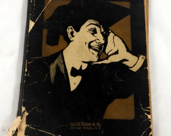 Famous College Songs. Antique Collegiate Songbook 1906 Jos W Stern. Popular Melodies of the Campus Past & Present. Vintage Sheet Music