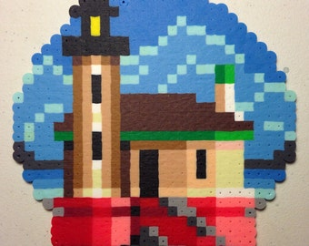 Custom 8-bit Pixel Art Ornament