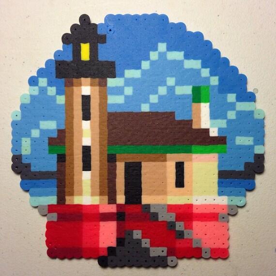 Custom 8-bit Pixel Art Ornament