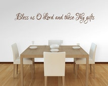Bless Us O Lord And These Thy Gifts Kitchen And Dining
