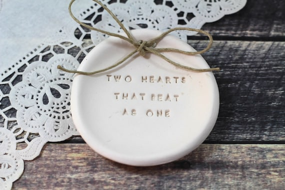 Items similar to anniversary gift two hearts that beat as