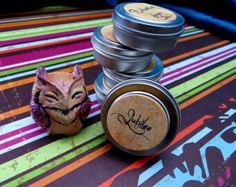 Jubilee (solid perfume--coconut, sugarcane, lemongrass)