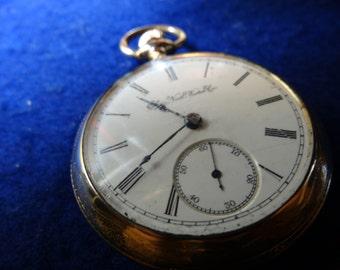 1892 Elgin 18 Size 11 Jewels Model 5 Pocket Watch