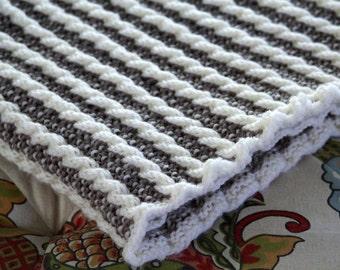 Knit Afghan Pattern, Stroller Blanket, Baby Afghan, Blanket Pattern, Timeless Baby Blanket, Heirloom, Baby Blanket Pattern