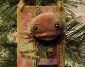 Holiday Creeper:  Original Christmas Ornament