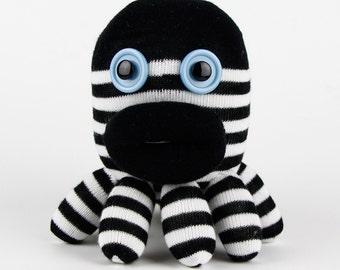 Handmade Sock Octopus Paul Stuffed Animal Doll Baby Toys Plush Toys