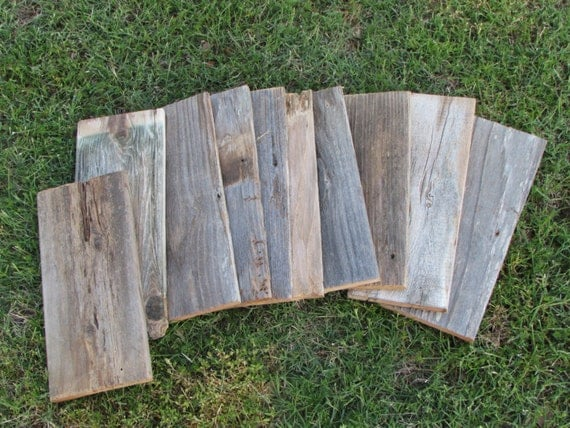 ON SALE - Reclaimed Old Fence Wood Boards - 10 Fence Boards - 12 Inch  Lengths - Weathered Barn Wood Planks Good Condition - Great Crafting! from  UnhungHarps ... - ON SALE - Reclaimed Old Fence Wood Boards - 10 Fence Boards - 12
