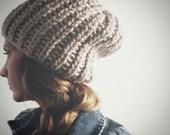 slouchy hat / beanie / womens winter hat / mens hat / fall winter fashion / knit cap