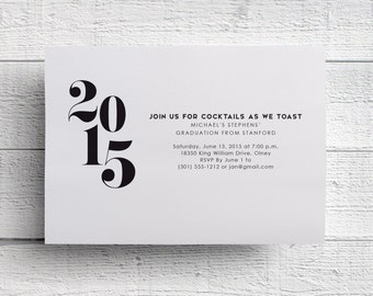 Print Your Own Graduation Party Invitation