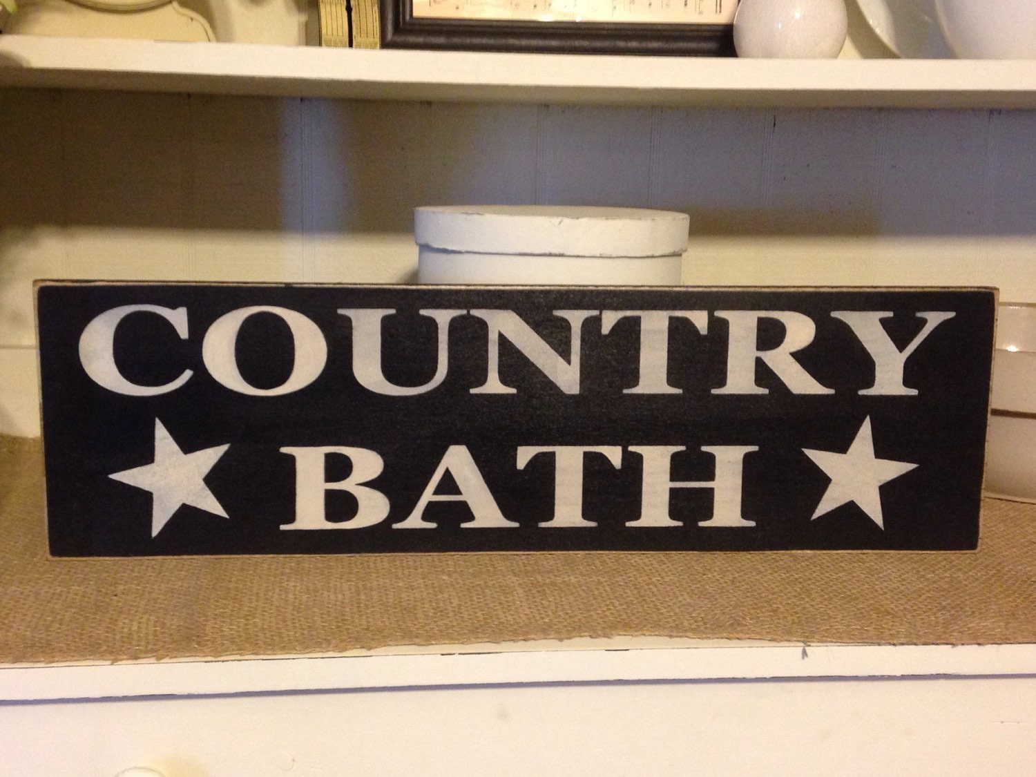 Country Bathroom Signs