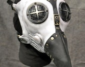 Plague Doctor Gas Mask, White Silicone - MS053ANSW