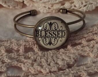 Blessed cuff bracelet