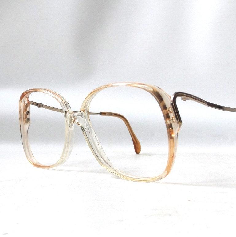 Vintage Eyeglass Frames Etsy : vintage 1970s NOS metzler eyeglasses by RecycleBuyVintage ...