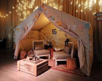 Earthy Pastel / Bohemian Wedding Decor / Wedding Decorations Vintage / Wedding Bunting / Fabric Bunting / Wedding Reception Decor / 55ft