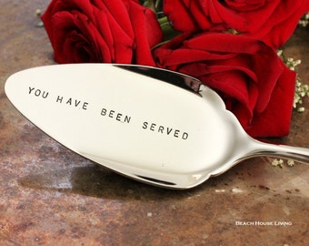 Cake Serving Utensil You Have Been Served, Pie Server, Gift Ideas for Lawyers Luxe Table Decor