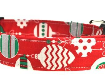 Holiday Dog Collar - Christmas Bells