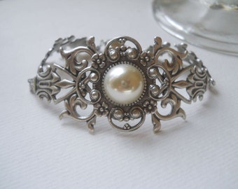 Silver Filigree Bracelet