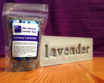 Culinary Lavender, 1/4 Pound