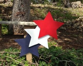 Patriotic Shooting Stars Yard decoration