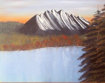 9 x 12 Original Oil Landscape Painting