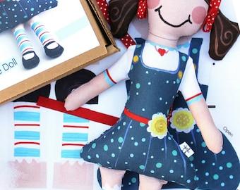 SALE Sweet Sophie doll kit by Jennifer Jangles