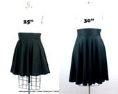 "Plus Size High Waist Wrap Skirt ( 2 - 24 ) Choose your length  25"" L or 30""L"