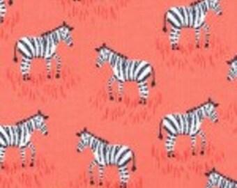 Michael Miller CX6549-CORA-D Mini Zebras Fabric by the Yard