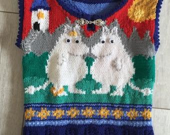 Knitting Pattern: Moomintroll One Year