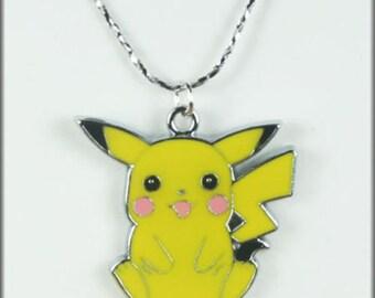 Pokemon Pikachu Necklace Free Shipping!