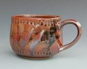 Coffee Mug - Handmade Mug - Pottery Mug - Ceramic Mug - Stoneware Mug